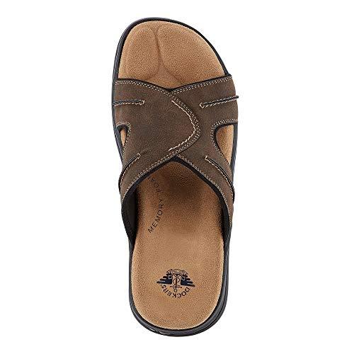 dockers Mens Sunland Casual Slide Sandal Shoe Dark Brown dockers Mens Sunland Casual Slide Sandal Shoe Dark Brown.