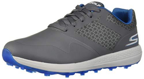 Skechers Men's Max Golf Shoe, Charcoal/Blue