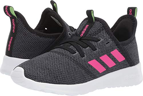 adidas Kids Cloudfoam Pure, Black/Shock Pink/Grey