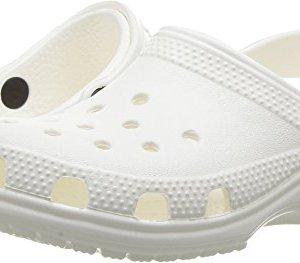 Crocs Kids' Classic Clog, White