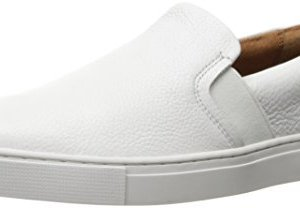 FRYE Women's Ivy Slip Fashion Sneaker, White
