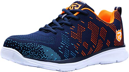 LARNMERN Steel Toe Shoes Men Safety Work Athletic