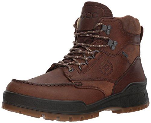 ECCO Men's Track 25 Premium High Winter Boot, Cocoa Brown/Camel