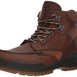 ECCO Men's Track 25 Premium High Winter Boot, Cocoa Brown/Camel