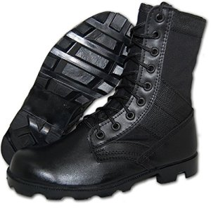 Krazy Shoe Artists Combat Jungle Boot Men in Black