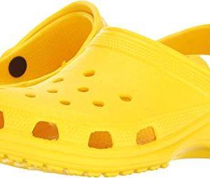 Crocs Unisex-Kid's Classic Clog, Lemon