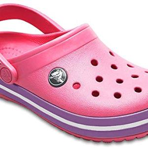Crocs Kids' Crocband Clog, paradise pink/amethyst