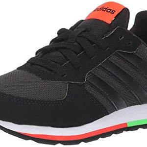 adidas Unisex 8K, Carbon/Black/Solar red