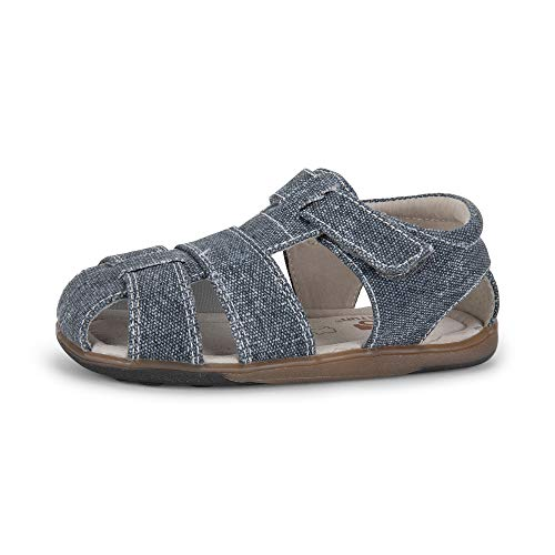 See Kai Run - Jude IV Sandals for Kids, Gray Canvas