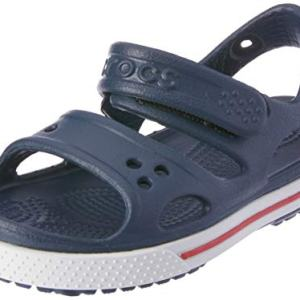 Crocs Kids' Crocband II Toddler Sandal | Water Shoe for Boys and Girls