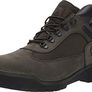Timberland Men's Waterproof Field Boot, Dark Green Nubuck