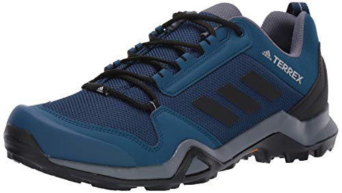 adidas outdoor Men's Terrex AX3 Hiking Boot, Legend Marine/Black/Onix