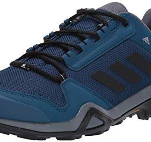 adidas outdoor Men's Terrex AX3 Hiking Boot, Legend Marine/Black/Onix