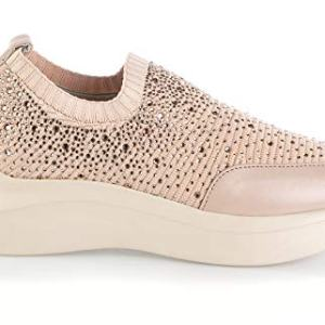 Baldinini Pink Socks Italian Designer Summer Women Fashion Sneakers