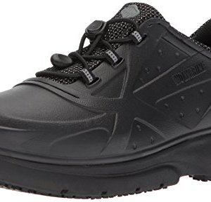 Wolverine Men's Serve SR Food Service Shoe, Black