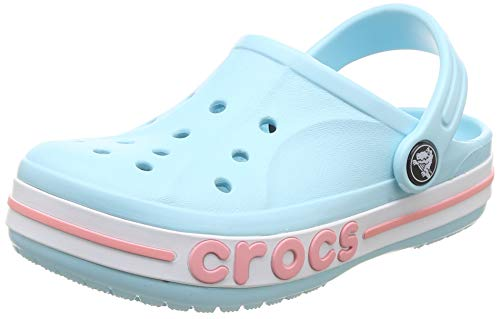 Crocs Kids' Bayaband Clog, ice Blue