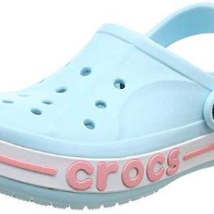 Crocs Kids' Bayaband Clog, ice Blue