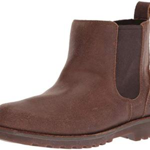 UGG Unisex-Kids K Callum Chelsea Boot, Chocolate