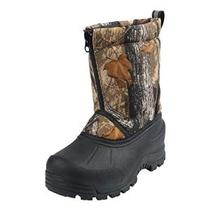 Northside Boys' Icicle Snow Boot, Tan Camo