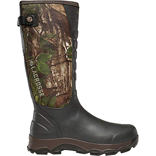 Lacrosse 4X Alpha Snake Boot-M, Realtree Xtra Green