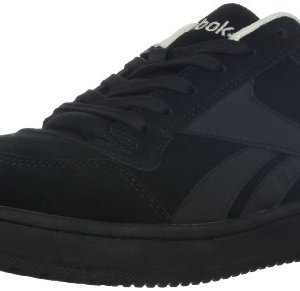 Reebok Work Men's Soyay Safety Shoe,Black Oxford