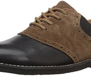 Florsheim Kids Boys' Kennett Jr. II Oxford, BLK Multi