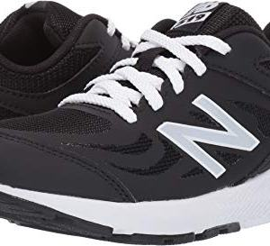 New Balance Boys' 519v1 Running Shoe, BLACK
