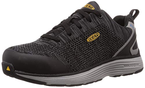 KEEN Utility Men's Sparta Low Alloy Toe ESD Non Slip Industrial Work Shoe