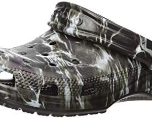 Crocs Kid's Classic Mossy Oak Elements Clog, Black