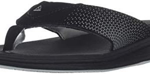 Reef Boys Rover Sandal, Black