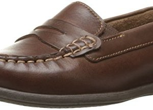 Florsheim Kids Jasper Driver, Slip On (Little Kid/Big Kid),Brown
