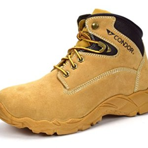 "CONDOR Idaho Men's 6"" Steel Toe Work Boot - Honey"