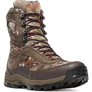 "Danner High Ground Realtree Xtra Green Boot 8"" Height Brown Hunting Boots"