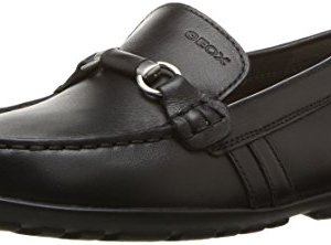 Geox New Fast BOY 3 Moccasin, Black