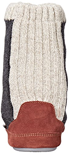 Acorn Men's Slouch Boot Slipper, Charcoal Ragg Wool Acorn Men's Slouch Boot Slipper, Charcoal Ragg Wool, X-Large / 12-13.