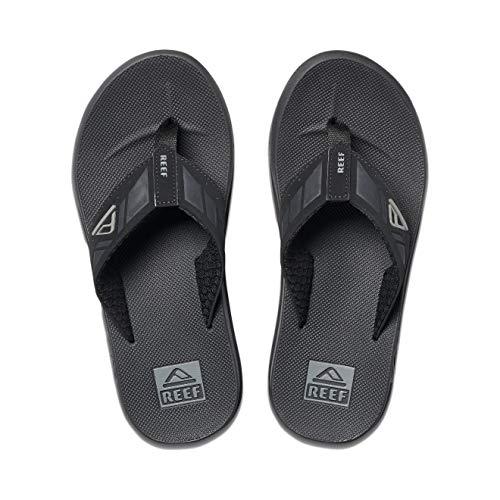 Reef Mens Phantom Sandals, Black
