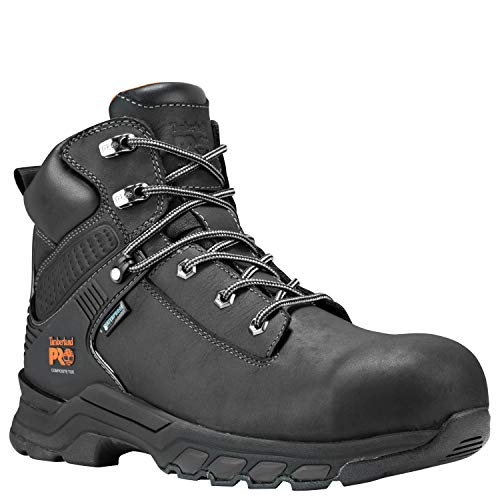 "Timberland PRO Men's Hypercharge 6"" Composite Toe Waterproof Industrial Boot"