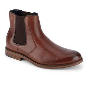 Dockers Men's Ashford Chelsea Boot, Brown