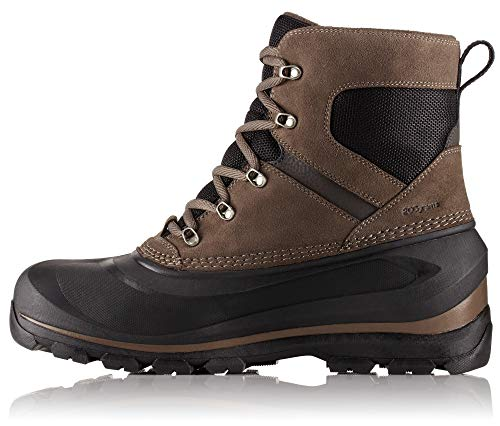 Sorel - Men's Buxton Lace Waterproof Winter Boot, Major/Black