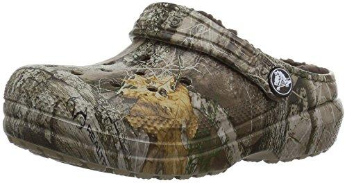 Crocs Unisex Classic Realtree Edge Lined Clog , khaki