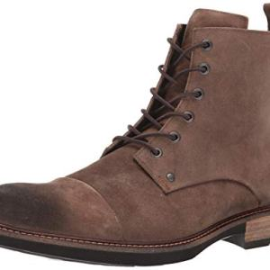 ECCO Men's Kenton Vintage Boot Ankle, Cocoa Brown Artisan lace