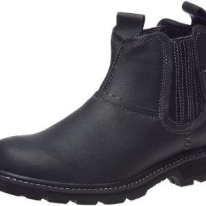 SKECHERS Men's Blaine - Orsen Black Boot