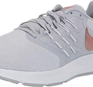 Nike Women's Run Swift Sneaker, Wolf Grey/Metallic Red Bronze