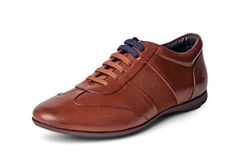 Carlos Santana Fleetwood Low-Cut Fashion Leather Sneaker Shoes
