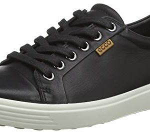 ECCO Women's Soft Sneaker, Black