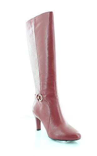 Bandolino Womens Lella Suede Closed Toe Knee High Fashion Boots
