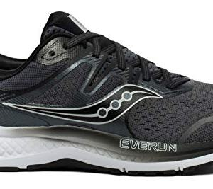 Saucony Men's Omni ISO 2 Running Shoe, Grey/Black