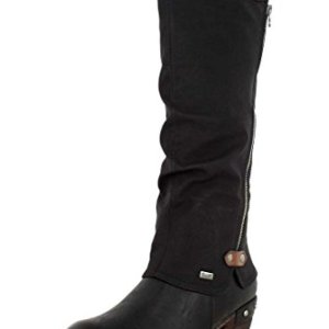 Rieker Womens Synthetic Black Boots