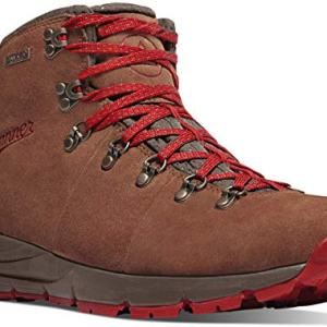 "Danner Men's Mountain 600 4.5"" Hiking Boot, Brown/Red-Suede"