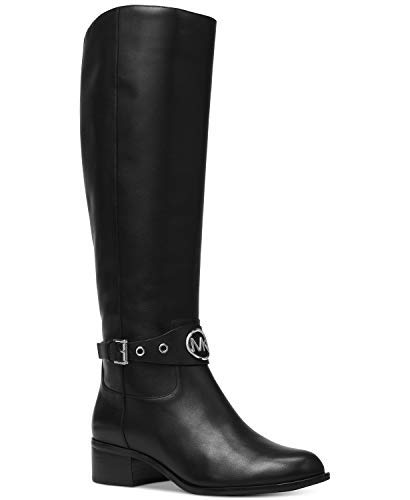 MICHAEL Michael Kors Womens Heather Leather Knee-High Boots